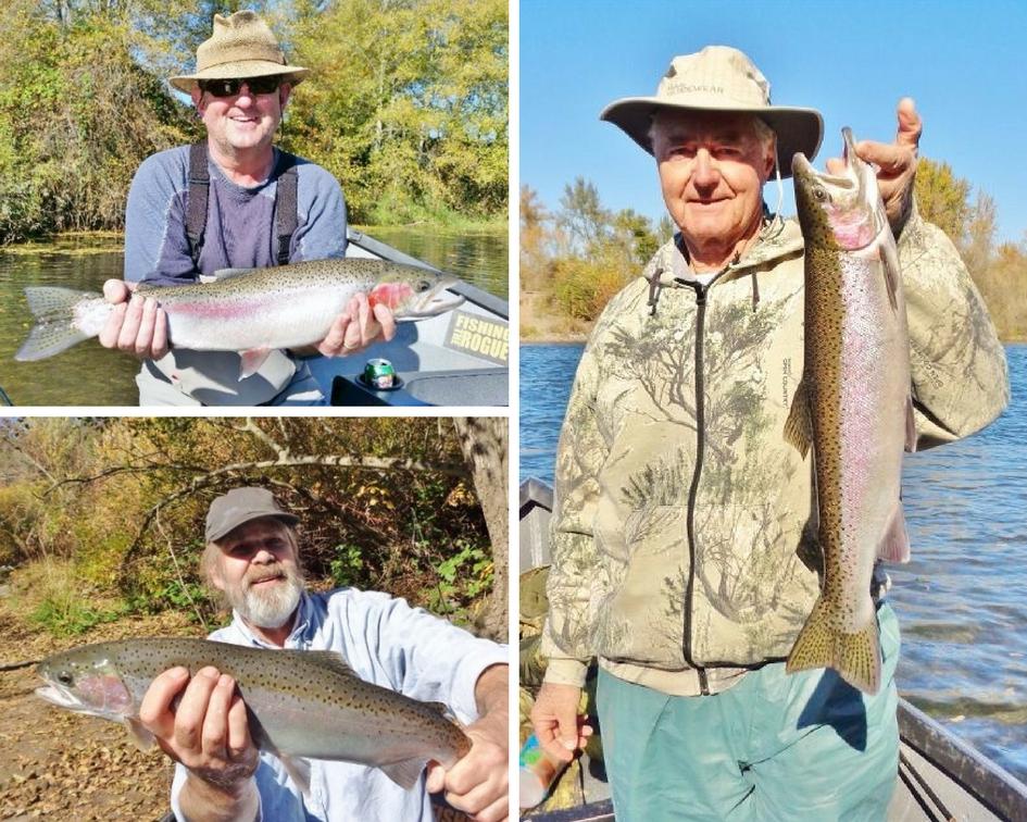 Upper rogue river steelhead fishing bait tackle opener for Steelhead fishing gear