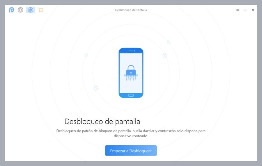 Desbloqueo de Pantalla con PhoneRescue