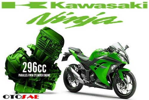 Ini Lho Tongkrongan Terbaru Motor Kawasaki Ninja 300CC