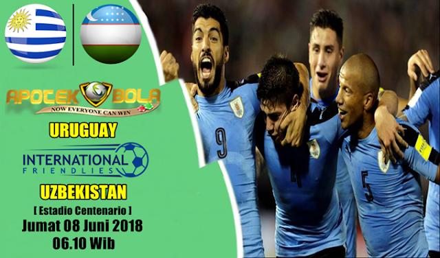 Prediksi Uruguay vs Uzbekistan 8 Juni 2018
