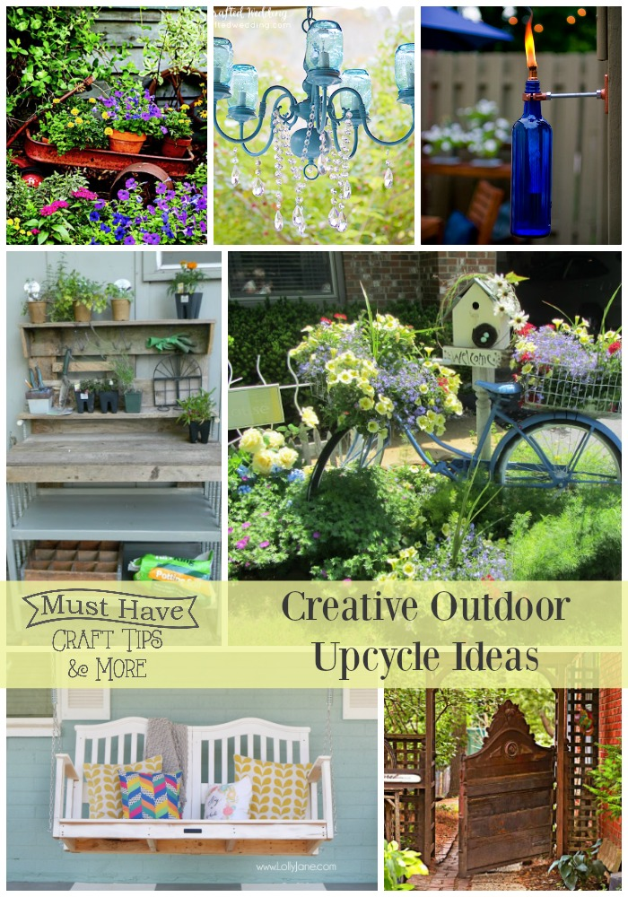 Creative Outdoor Upcycle Ideas Mine For The Making