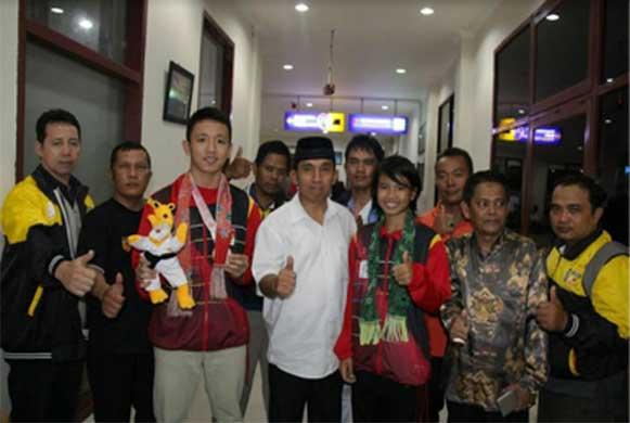Bengkulu, DetikBengkulu.com, Atlet Karate Bengkulu, Sumbang Koleksi Medali Indonesia