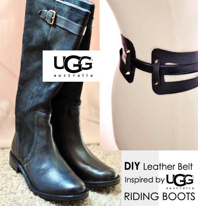 DIY Leather Belt, UGG Australia