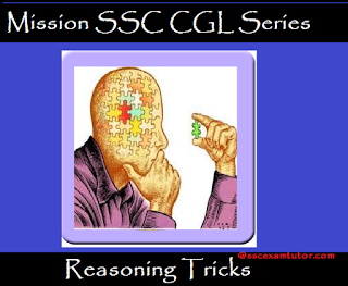 Reasoning Tricks for SSC Exams