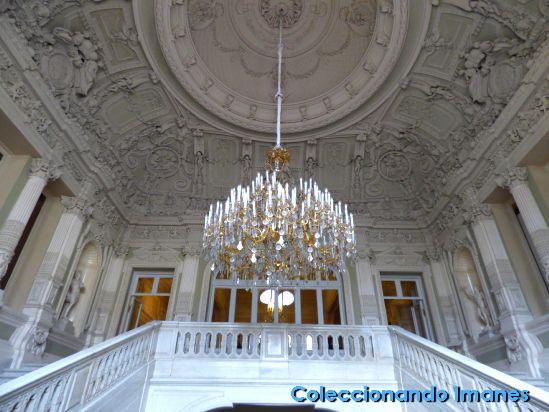 Escalera de Entrada al Palacio Yusupov