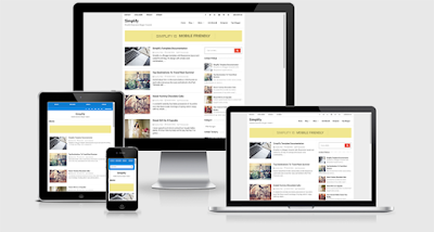 Simplify Responsive Blogger Template