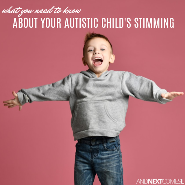 What you need to know autism stimming
