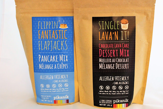 Gluten-Free Pancake and Lava Cake Mixes