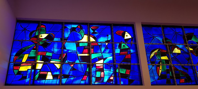 Miró's stained glass window