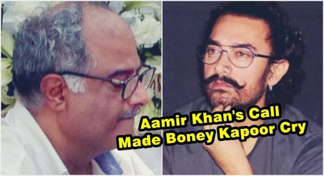 Unexpected Loss Of A Friend Www Liveluvecreate Com 0 John: Aamir Khan Tells Boney Kapoor The Reason Behind Sridevi's