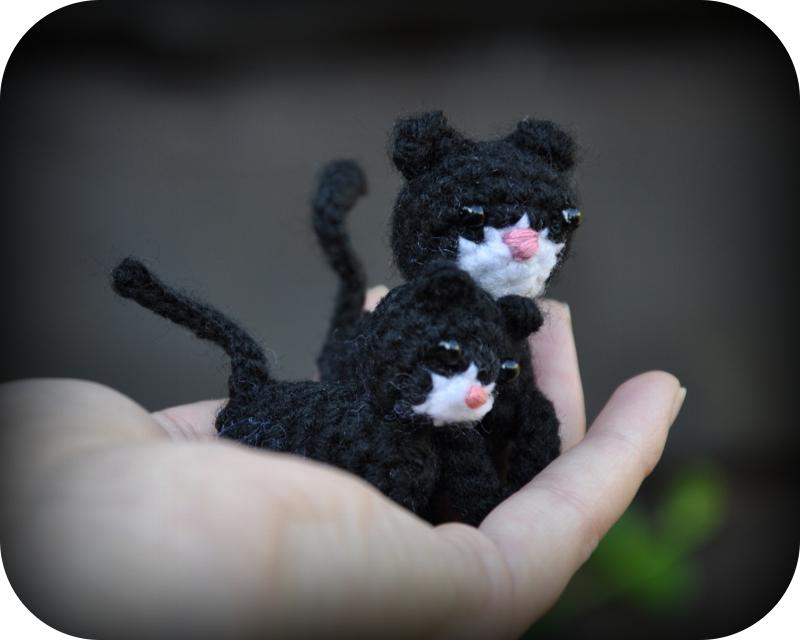 Grietjekarwietjeblogspotcom Haakpatroon Poes Met Kitten