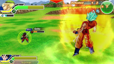 Download Dragon Ball Tag VS PSP ISO