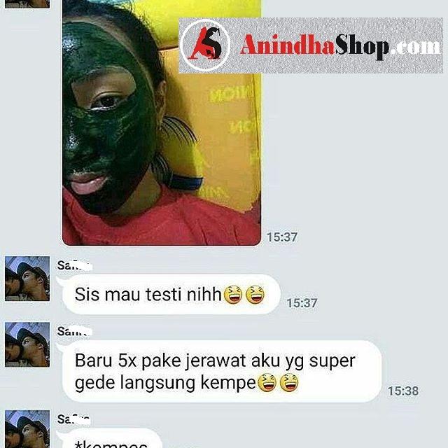 Jerawat Super Gede langsung kempes - Review Masker Spirulina