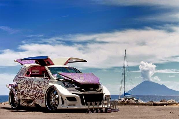 Modifikasi Mobil Honda CRV Terbaru extreme