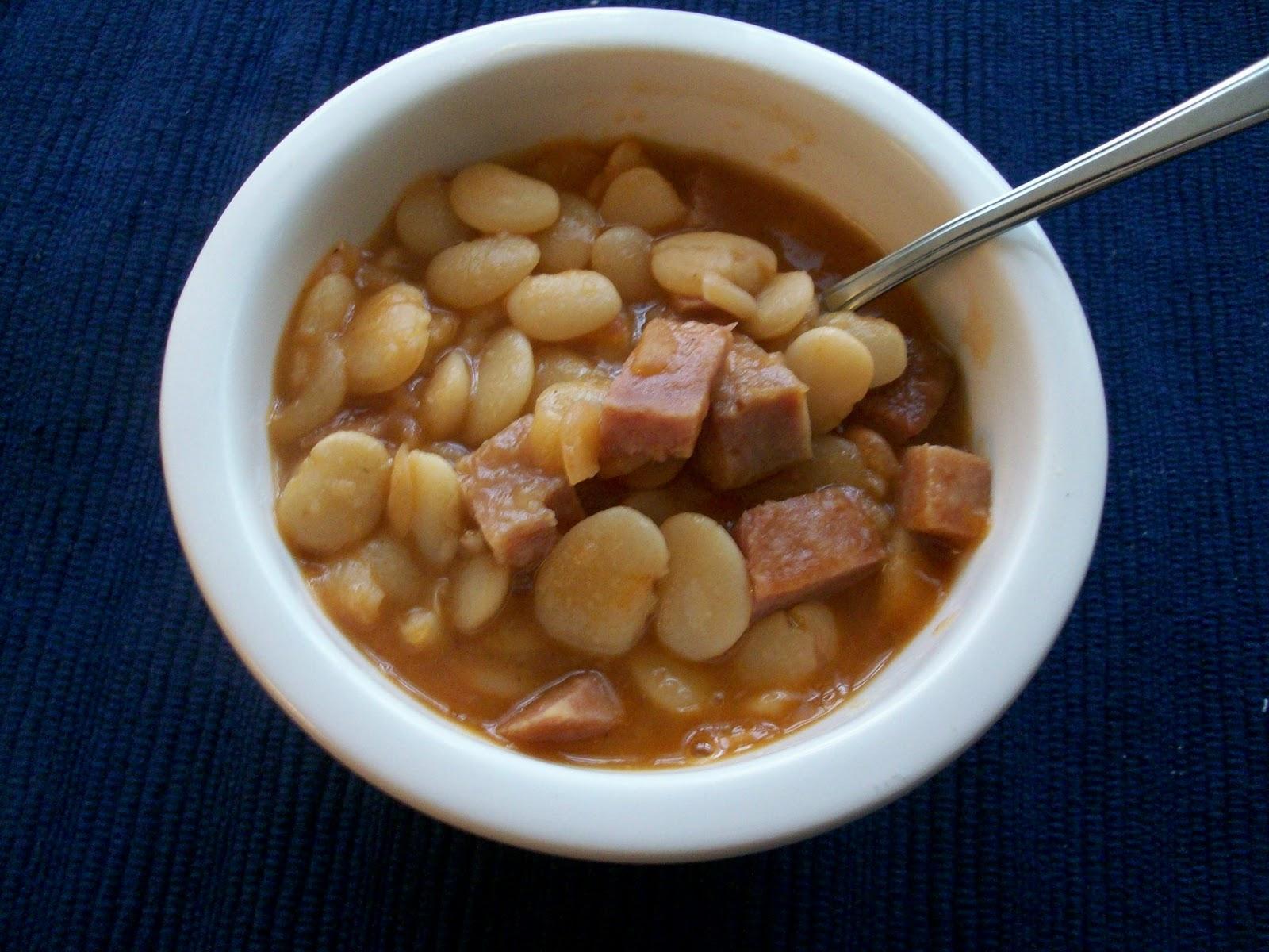 Martha S Recipe Cabinet Lima Bean Soup