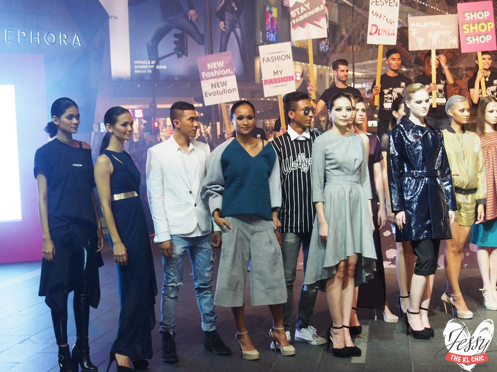 KLFW 2015: Grand Launch + Who Wore What (Pavillion, KL)