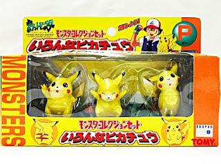 Pokemon figure Tomy Monster Collection Set P