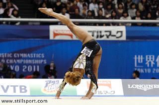 I Flip For Gymnastics Danusia Francis From British Elite