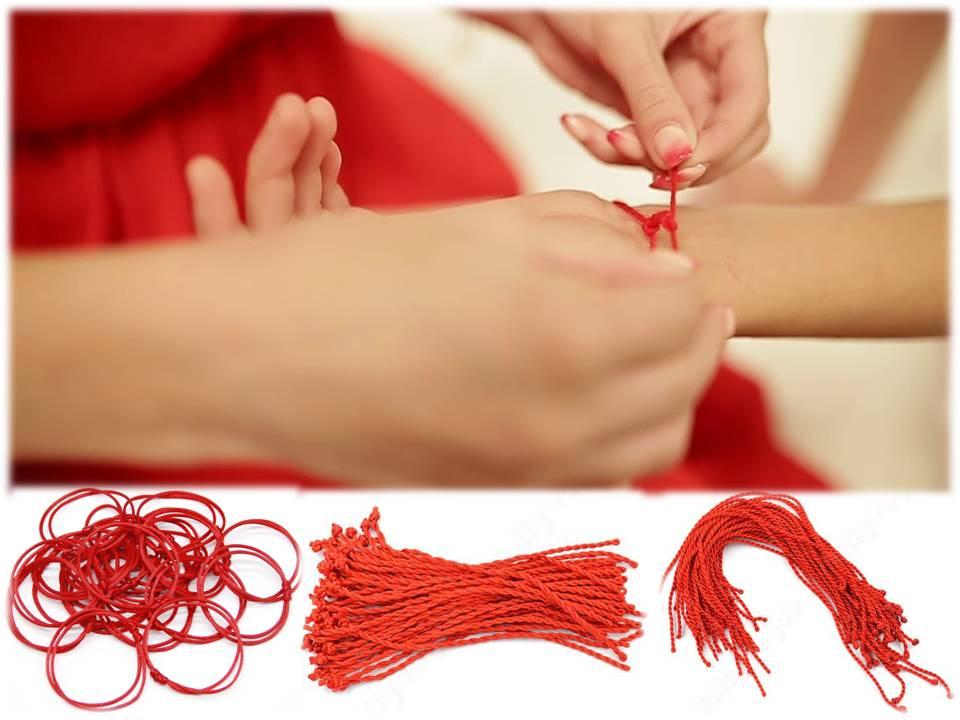 d3c0b461f6a8 ¿Has visto alguna vez a personas llevan un fino hilo rojo atado en su  muñeca a modo de pulsera  No te sorprenderá saber que este es un antiguo