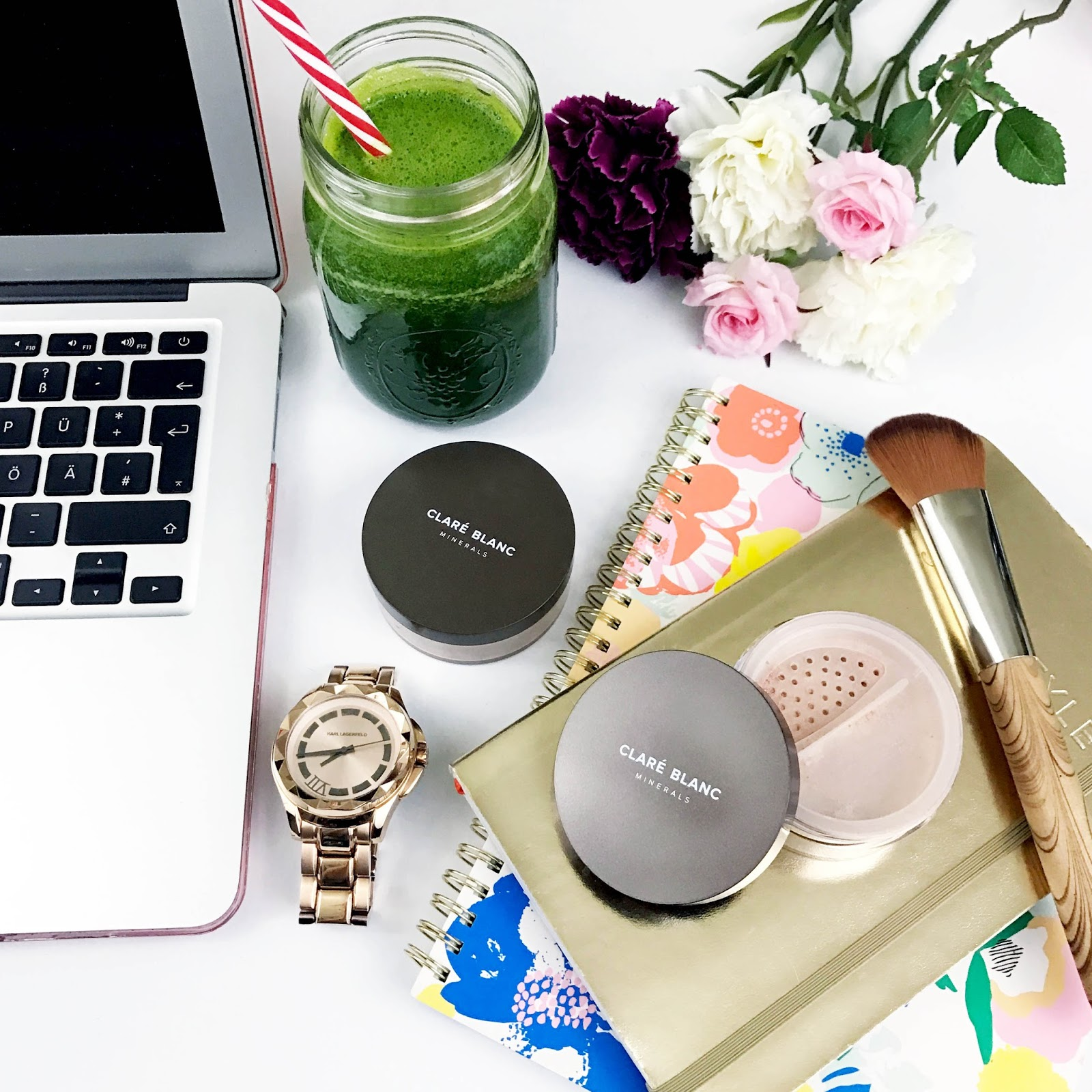 clare blanc makeup review