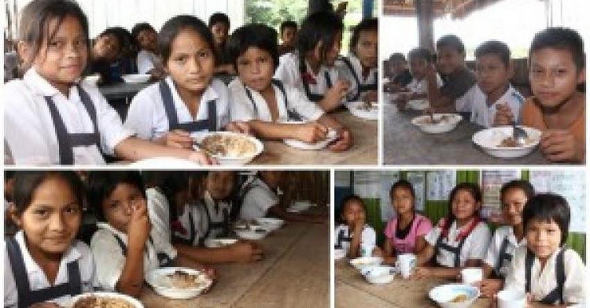 QALI WARMA: Programa Social brinda nutritivos desayunos y almuerzos a escolares de comunidades nativas de Pasco www.qaliwarma.gob.pe