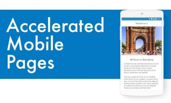 pagine accelerate per navigazione mobile