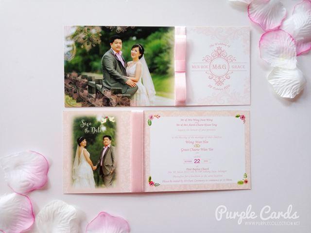 pink wedding card, custom made, special, unique, save the date, bespoke, personalized, personalised, church wedding, chinese, modern, kuala lumpur, malaysia, selangor, penang, ipoh, perak, seremban, johor bahru, singapore, muar, bentong, pahang, kuantan, sabah, sarawak, kota kinabalu, kuching, australia, sydney, canberra, melbourne, nsw