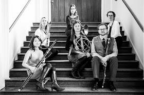 Boxwood and Brass - Takako Kunugi, Fiona Mitchell, Anneke Scott, Kate Goldsmith, Richard Percival, Emily Worthington(Photo Tom Bowles)