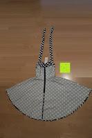 innen hinten: VKStar® Vintage 50er 60er Tupfe Neckholder Retro Cocktailkleid Rockabilly Audrey Hepburn Swing Kleid Kurz Damen Abendkleid