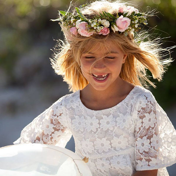 Vestidos y blusas para niñas primavera verano 2018| Moda 2018.