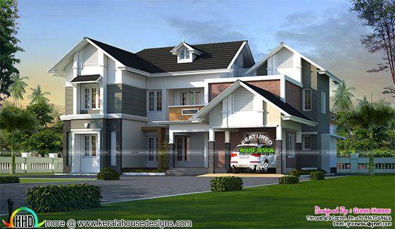 Elegant villa plan