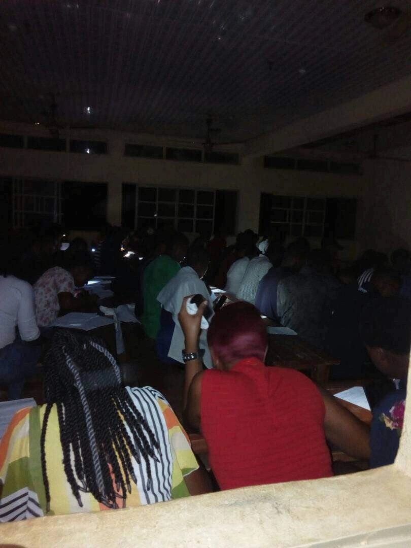 Oko Polytechnic Students Compelled to Write Test in Darkness