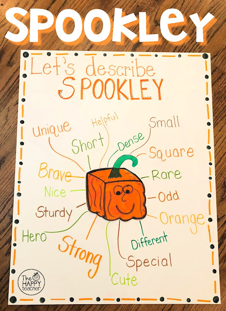 Spookley the Square Pumpkin Character Anchor Chart