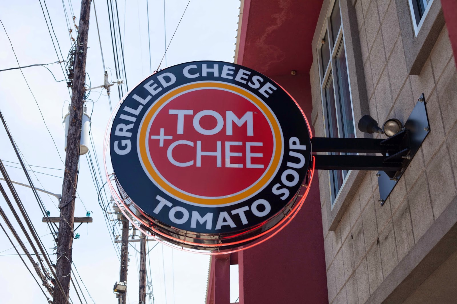 Tom + Chee Grilled Cheese
