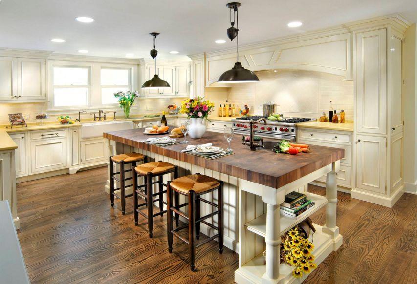 Kitchen Island With Seating Butcher Block Home Interior Exterior Decor Design Ideas