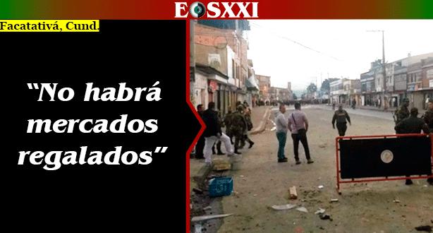 Vandalismo por el Supercundi en Facatativá