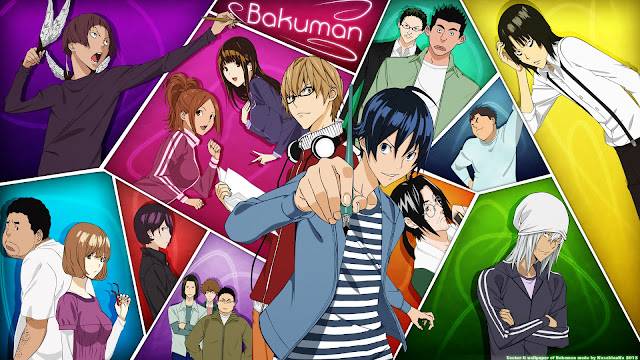 Recenzja anime Bakuman