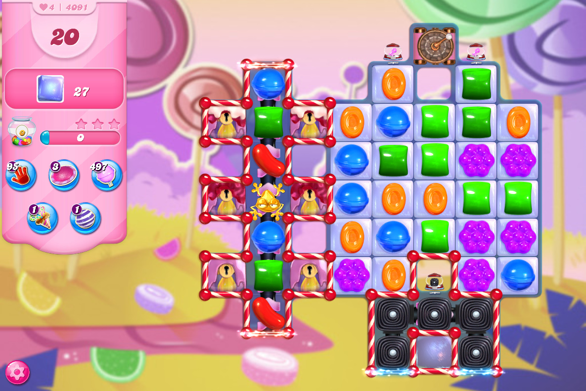 Candy Crush Saga level 4091