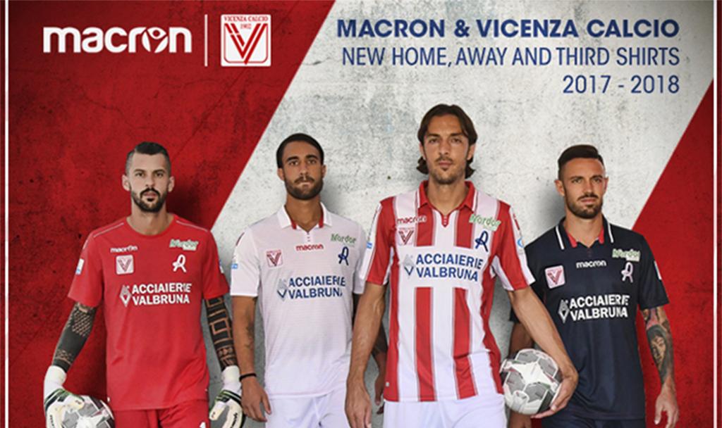 e19ca6e4c Lo sponsor tecnico Macron a sostegno del Vicenza Calcio - Sport ...