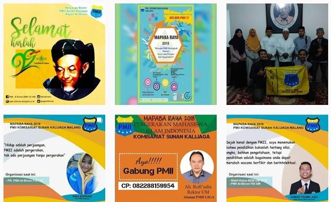 Susunan Pengurus Rayon PMII Al Biruni 2017-2018