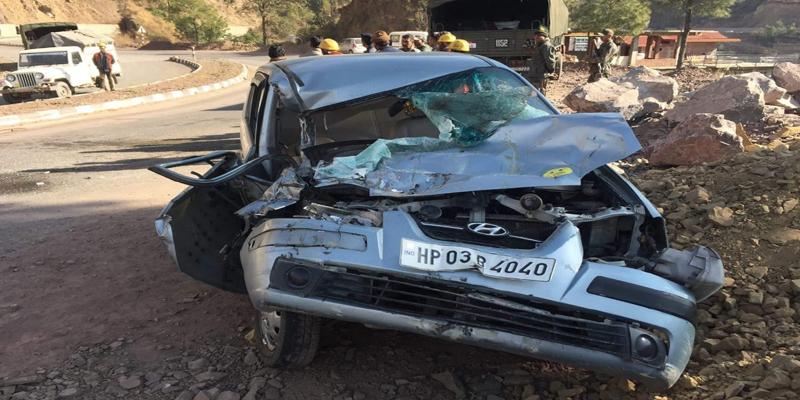 सड़क हादसे में CM Jai Ram Thakur की सुरक्षा में तैनात इंस्पेक्टर की मौत