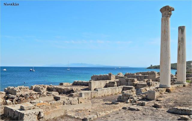La ciutat de Tharros i les seves columnes