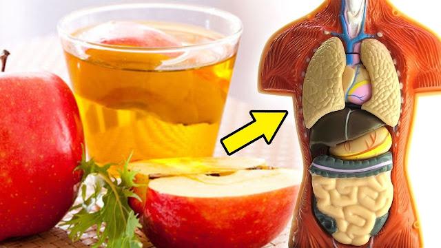 Take Cider Vinegar At Night
