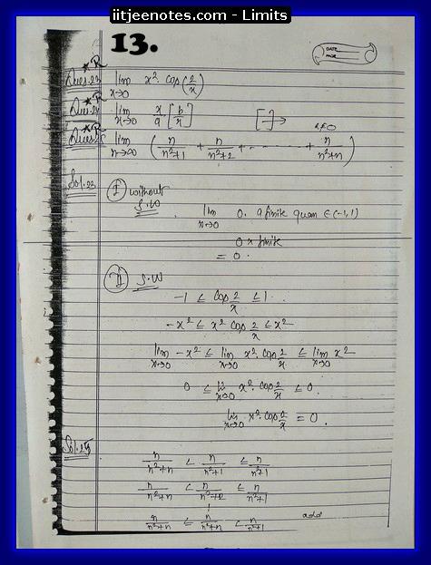 limit notes3