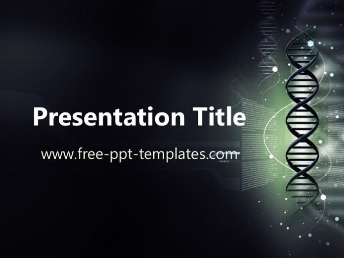 genetics ppt template, Powerpoint templates