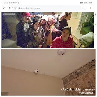 Família descobre câmera escondida em Airbnb ao procurar rede WiFi