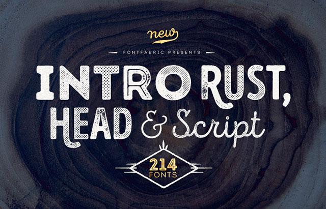 Intro_Rust_Free_Font