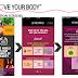 THE BODY SHOP : APLIKASI UNTUK TELEFON BIMBIT