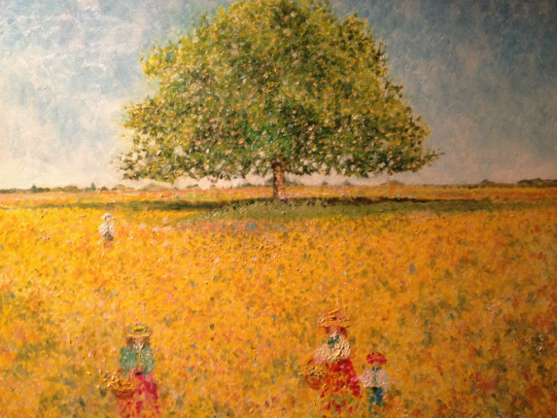 Le champ de colza par Eliland