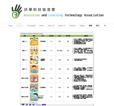 香港的科技輔具應用 Apps